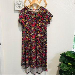 ❤️5/$25 Lularoe Carly Floral Dress Sz XS